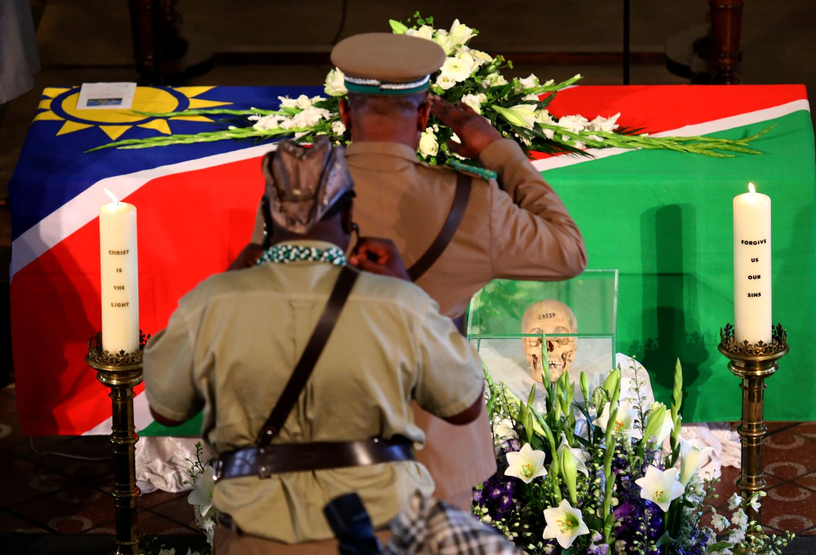 Germany returns remains from 1904-1908 genocide to Namibia