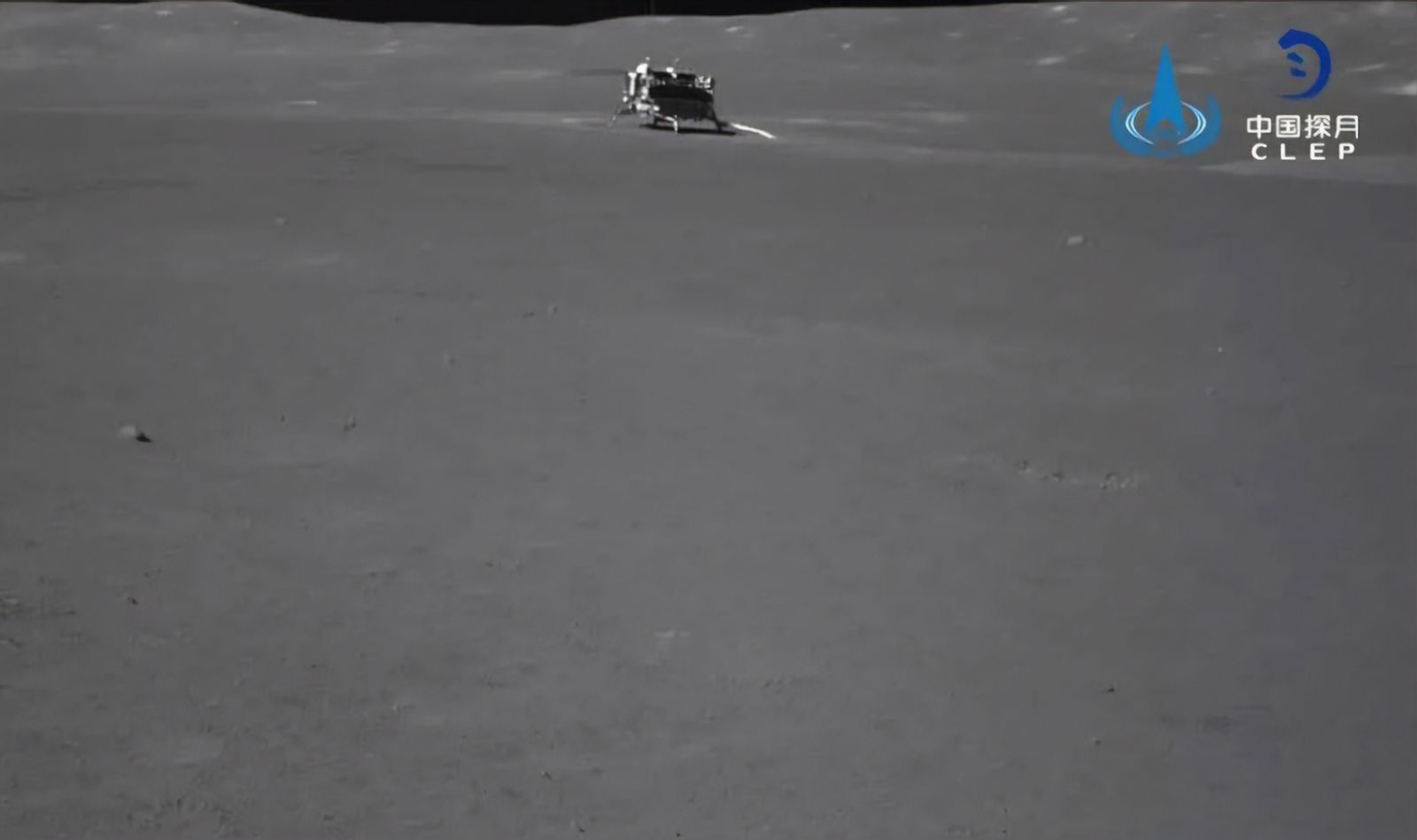 China's Chang'e-4 Lunar Lander Explores the Far Side of the Moon