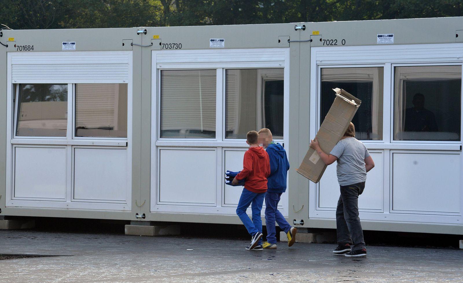 Schule / Container / Provisorische Klassenräume