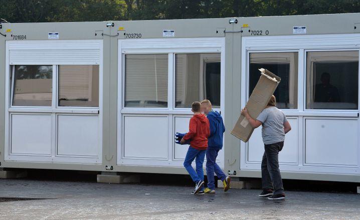 Container-Kinder: Eine Mutter wollte die Tochter davor bewahren