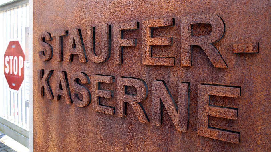 Staufer-Kaserne der Bundeswehr in Pfullendorf