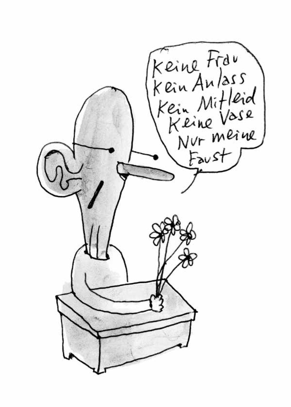 EINMALIGE VERWENDUNG NUR FÜR SPAM Cartoon / Die sieben Plurale von Rhabarber