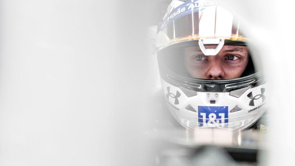 Mick Schumacher vom Team Haas
