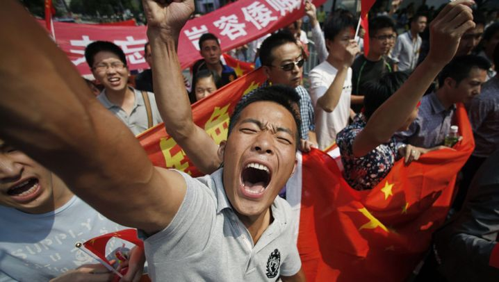 Inselstreit: Chinesen demonstrieren gegen Japan