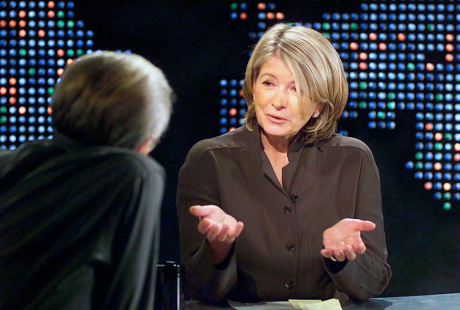 "Martha Stewart on ""Larry King Live"""