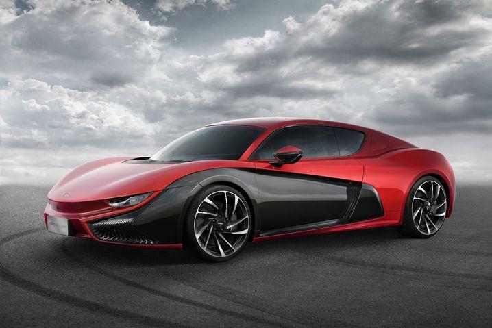 Qiantu K50: Fast wie ein Bugatti - nur elektrisch. Und chinesisch