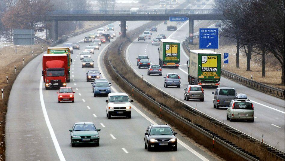 A3 bei Regensburg: Ab 40 Minuten wird das Pendeln stressig