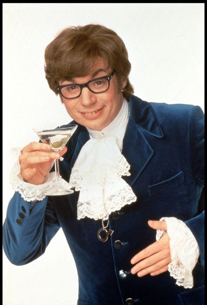 Mike Myers 1997 als britischer Agent Austin Powers.