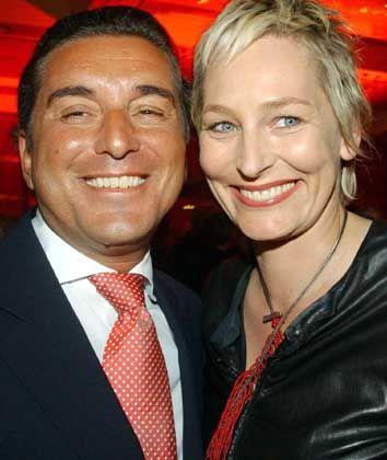 Friedman, hier mit Partnerin Bärbel Schäfer: Das Angebot angenommen