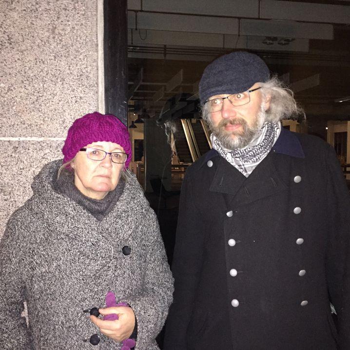"""Trauernde Ulla und Viggo in Kopenhagen: """"Es kann morgen wieder passieren"""""""