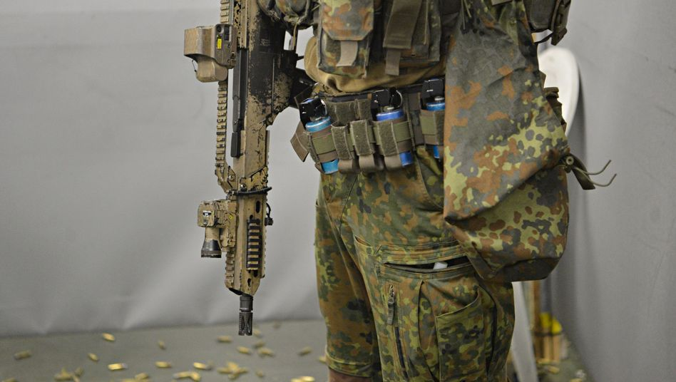 Soldat des Kommandos Spezialkräfte (Archivfoto)