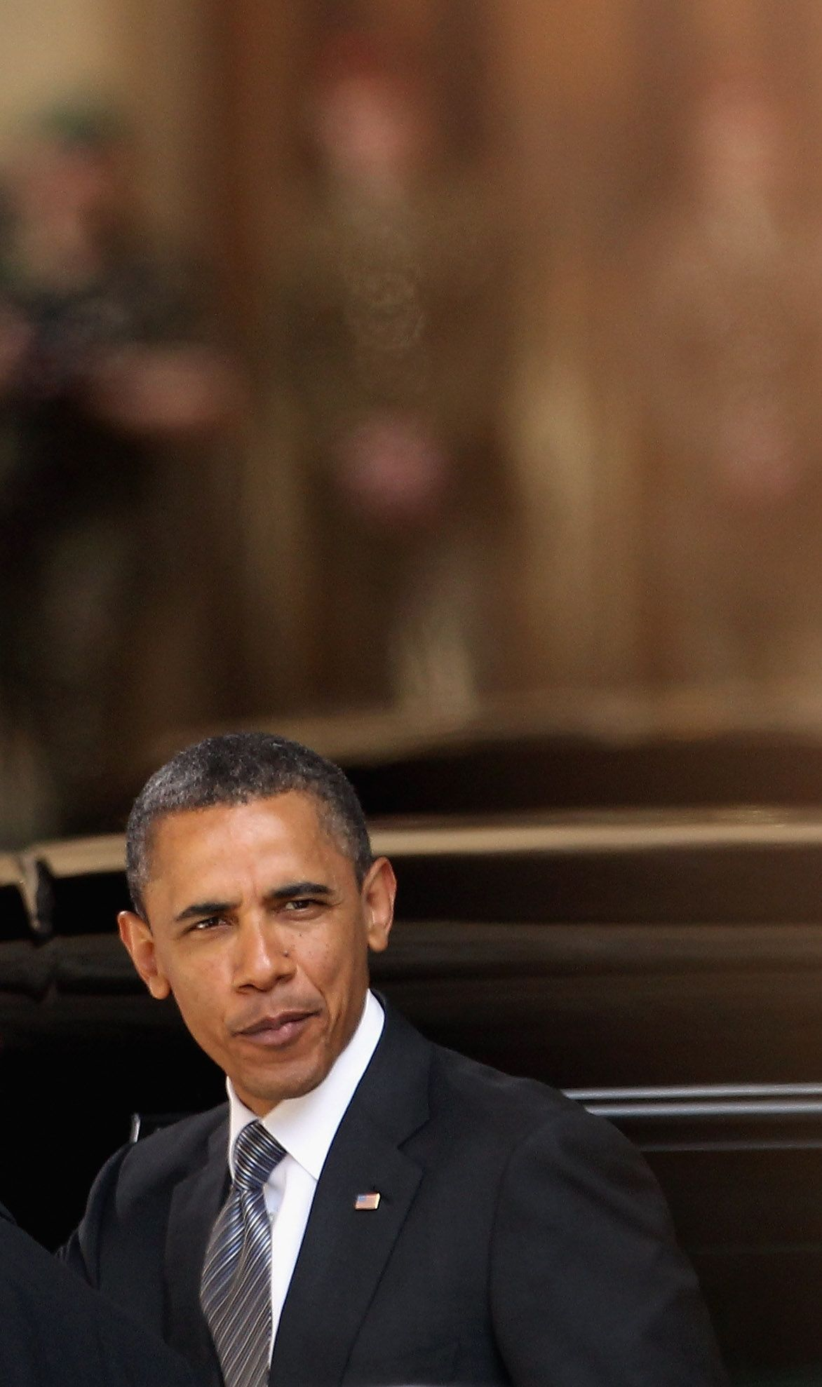 obama in london westminster