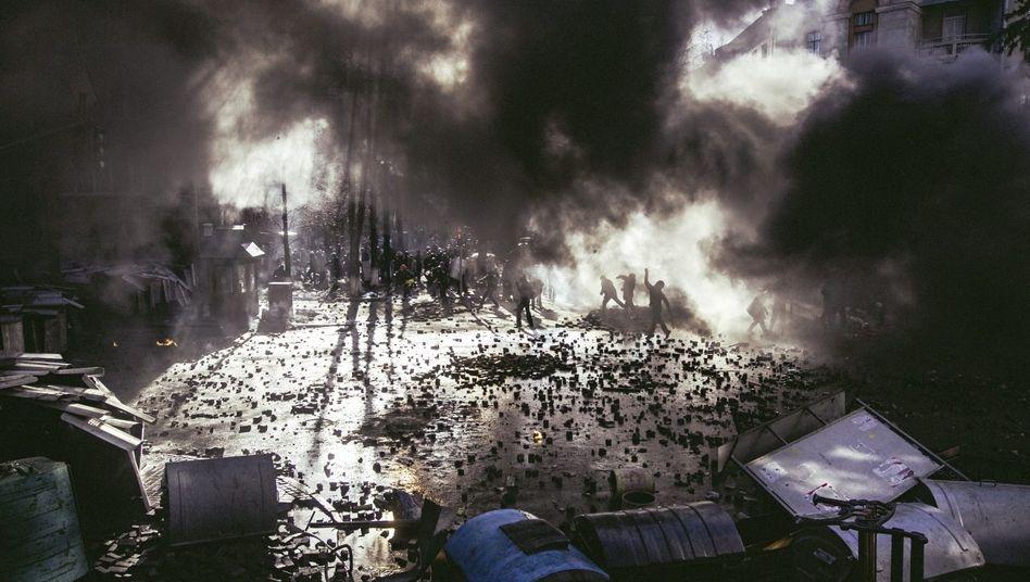 Maidan-Unruhen im Februar 2014: Theorie der kleinen Siege