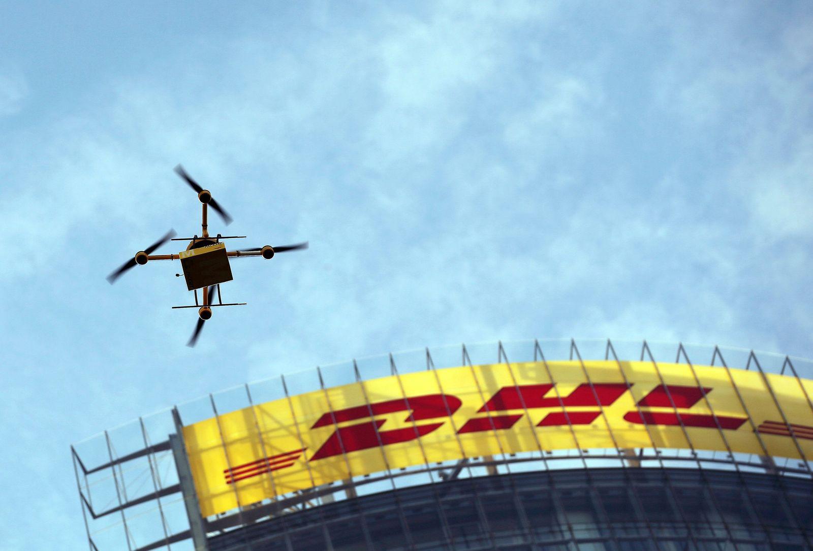 Paketkopter / Paketdrohne / Drohne / DHL