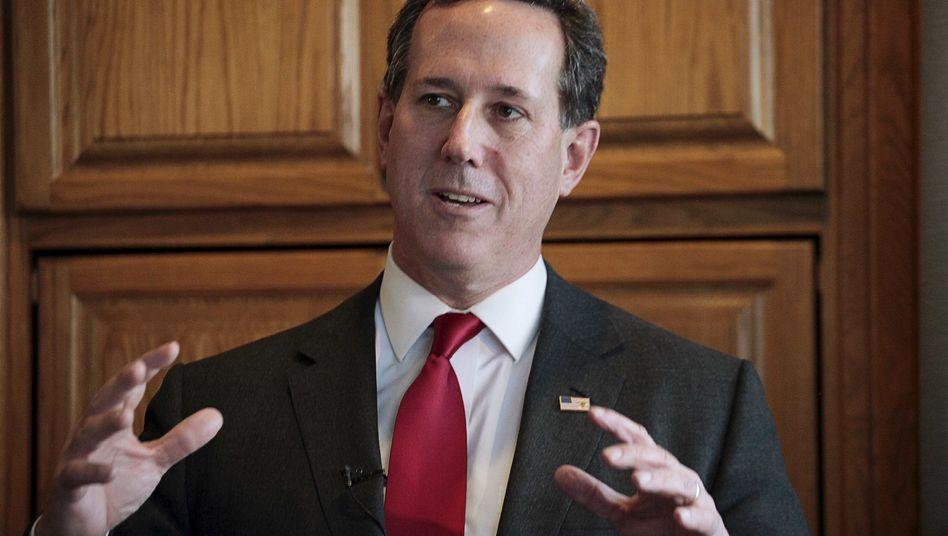 """Ex-Präsidentschaftsanwärter Santorum: """"Danke für eure Unterstützung"""""""