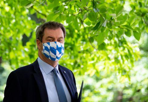 Maskenträger Söder