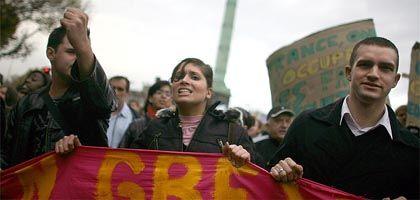 """Französische Studenten: """"Gegen die Privatisierung der Lehre"""""""