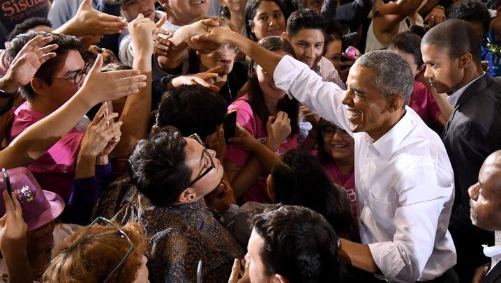 Obama im US-Wahlkampf: Ein wenig wie früher