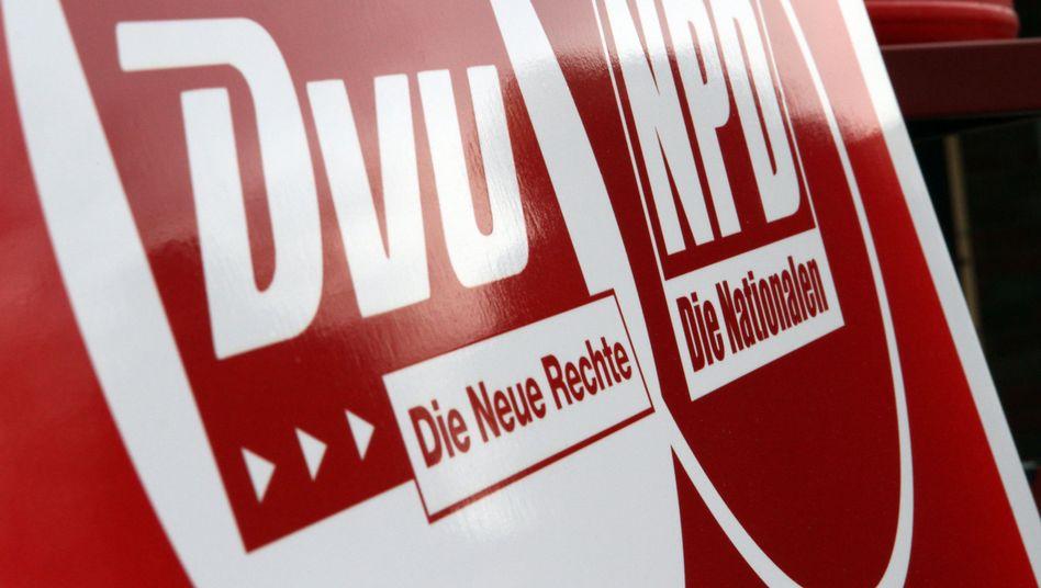 DVU und NPD: Erstmal keine Vereinigung