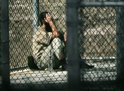 Insasse des US-Gefangenenlagers in Guantanamo Bay: Bush legt Veto gegen Anti-Folter-Gesetz ein