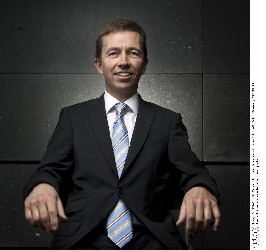 EINMALIGE VERWENDUNG SP 49/2019 S. 17 - Wie gewünscht gestückelt - Bernd Lucke, co-founder of anti-euro party