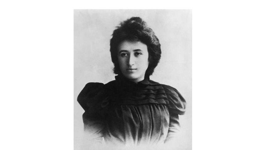 Die sozialistische Politikerin Rosa Luxemburg