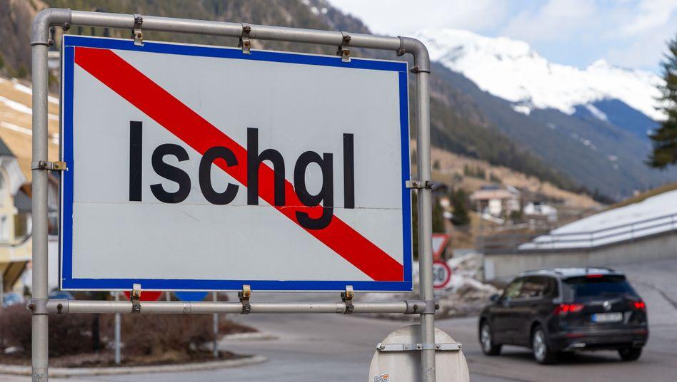 Das Ortsschild von Ischgl (Archivbild)