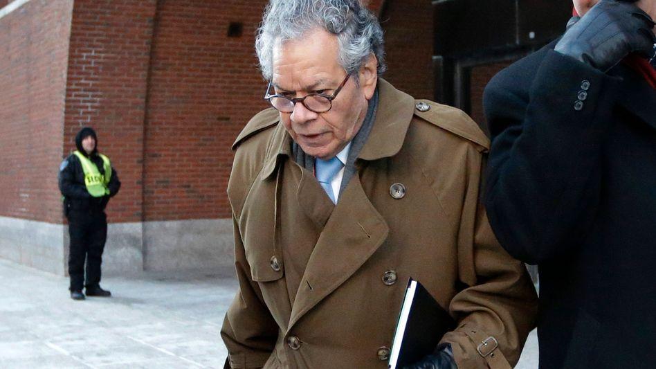 Insys-Gründer John Kapoor im Januar 2019 vor dem Gericht in Boston