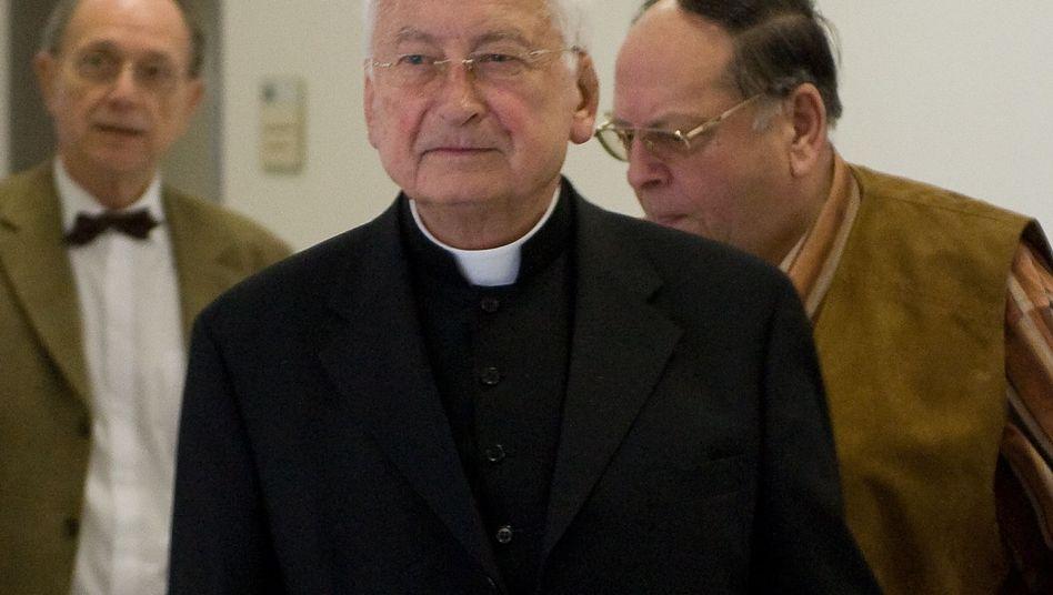 Walter Mixa im Landgericht Ingolstadt: Als Zeuge ausgesagt