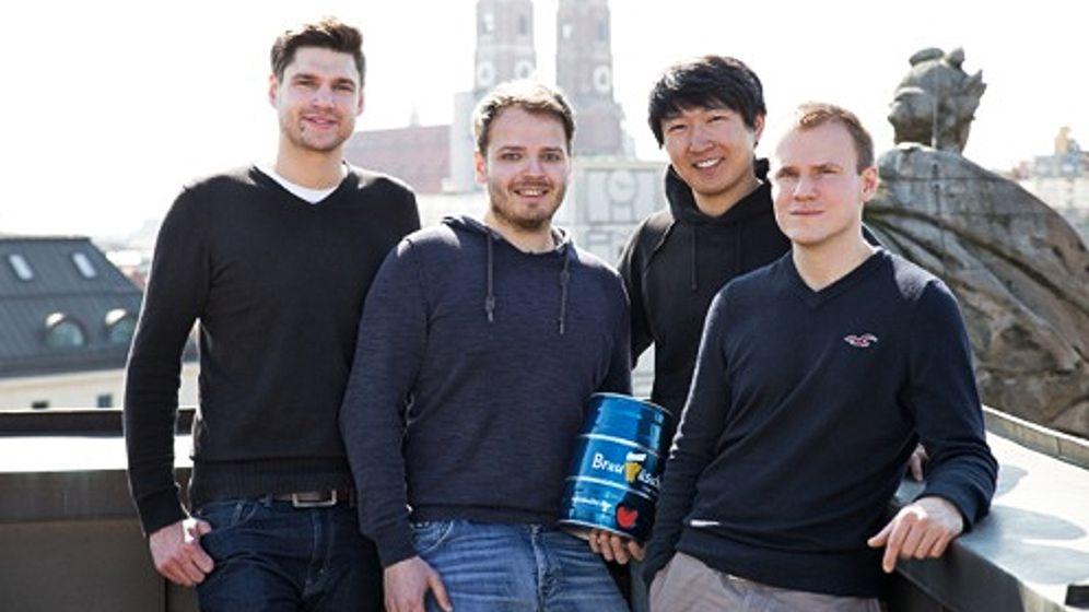 Studenten gründen Start-up: Bier nach dem Braukasten-Prinzip