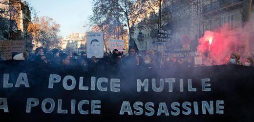Frankreich: Protest in Paris gegen Polizeigesetz eskaliert