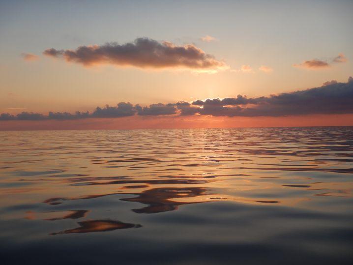 """Ruhiges Mittelmeer rund um die """"Seefuchs"""""""