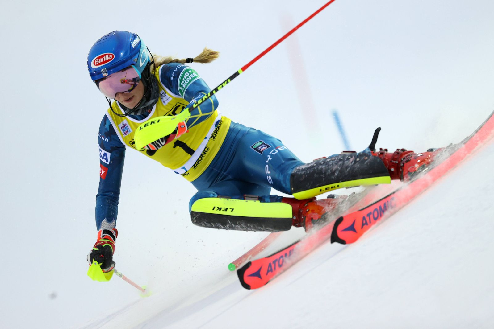 ALPINE SKIING - FIS WC Levi LEVI,FINLAND,21.NOV.20 - ALPINE SKIING - FIS World Cup, slalom, ladies. Image shows Mikaela