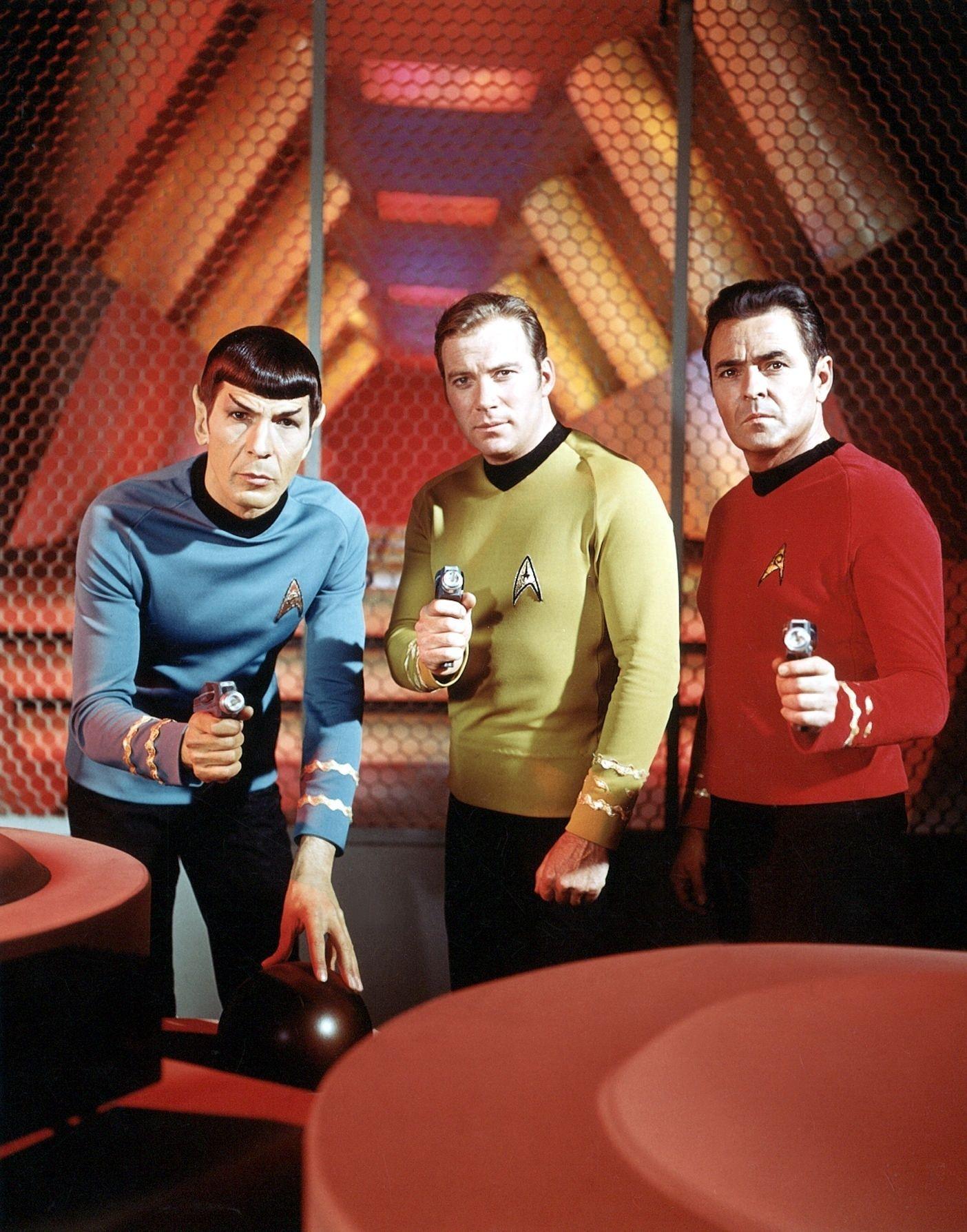 EINMALIGE VERWENDUNG Shatner / Nimoy / Kirk / Spok