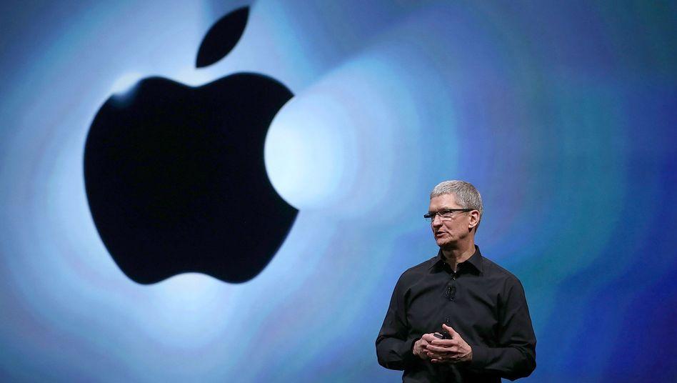 """Apple-CEO Tim Cook: """"Es tut uns ausgesprochen leid"""""""