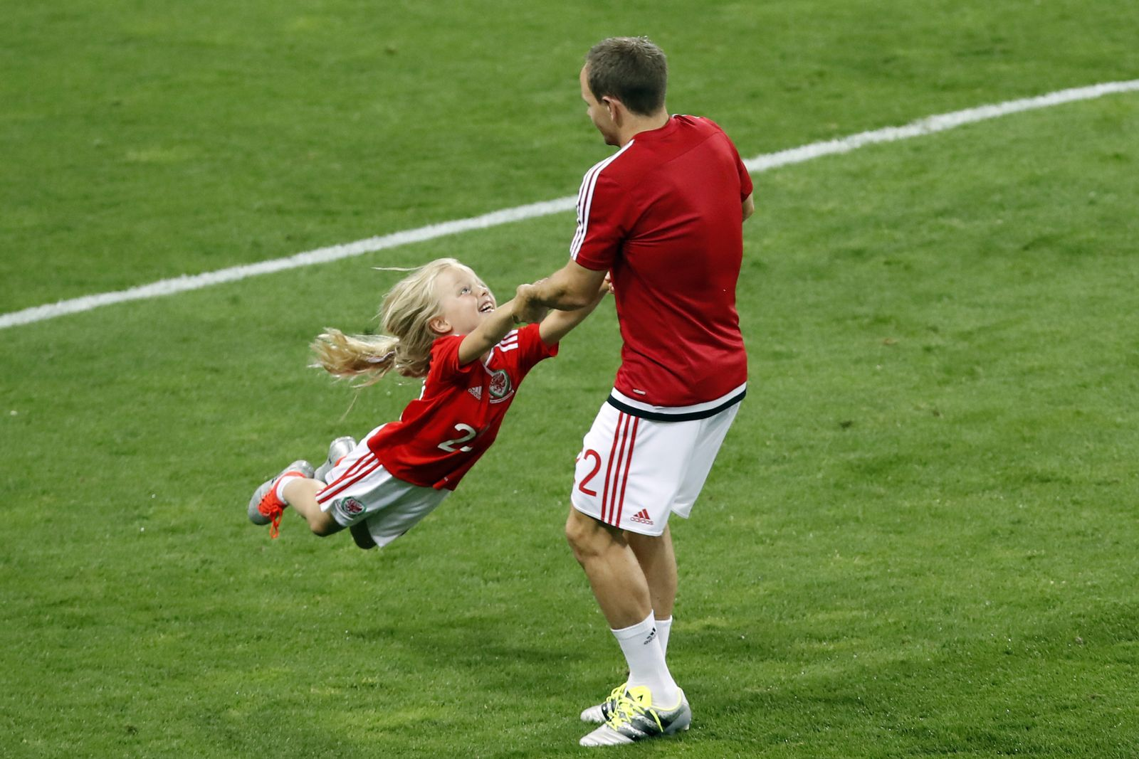EURO 2016 / Fußballer-Familien / David Vaughan