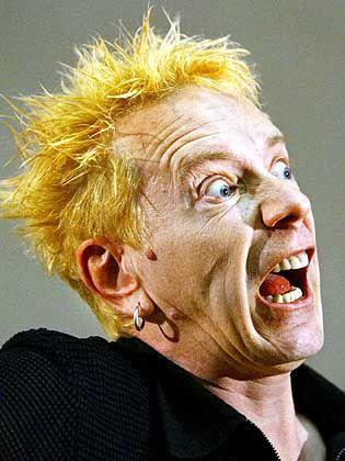 Nachher: Johnny Rotten im Jahr 2003