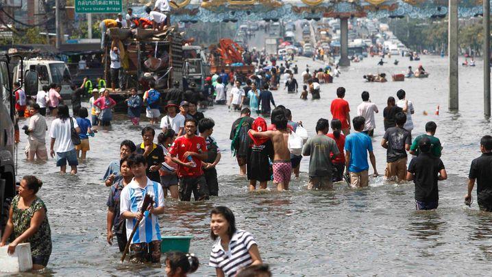 Thailand: Bangkok teilweise unter Wasser