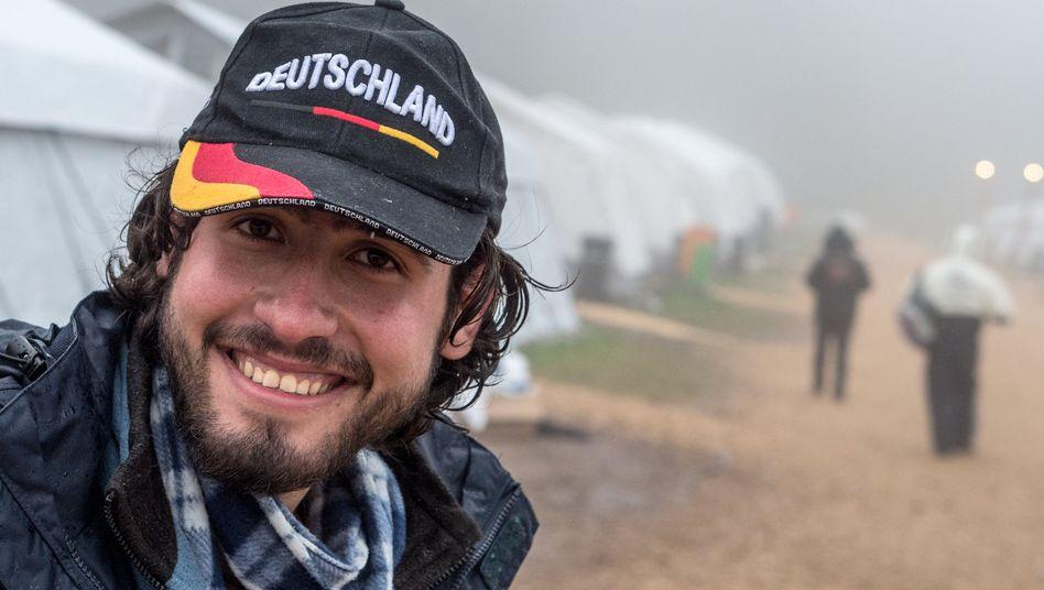 Syrer in einem hessischen Flüchtlingslager: Vorbild Wiedervereinigung?