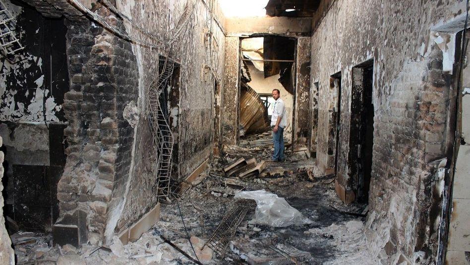 Bombardiertes Krankenhaus in Kunduz: Suche nach dem Grund für den US-Angriff