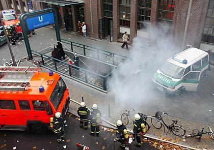 Rauch aus dem Schacht: Ein aktueller ZDF-Dreh sorgte für Aufsehen