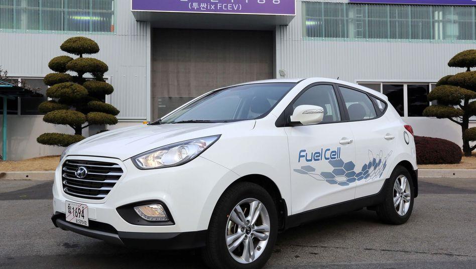 Hyundai ix35 mit Brennstoffzelle: Kleinserie von 1000 Stück geplant