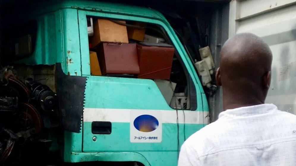 Studie: So kommt der Elektroschrott nach Nigeria