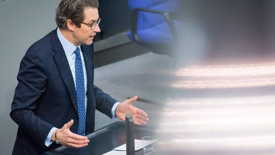 Bundesverkehrsminister Andreas Scheuer: Der CSU-Mann zieht regelmäßig Kritik auf sich, diesmal beim Thema autonomes Fahren