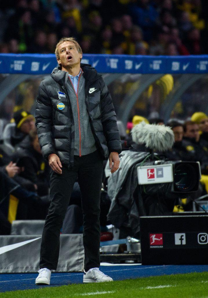 Oh, wie schade - Klinsmann startet seine Karriere als Hertha-Trainer mit einer Niederlage