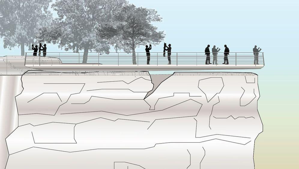Sächsische Aussichten: Über den Basteifelsen schweben