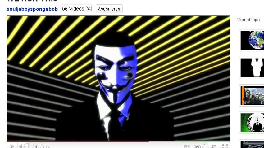 Anonymous-Video auf YouTube: Propaganda der Namenlosen