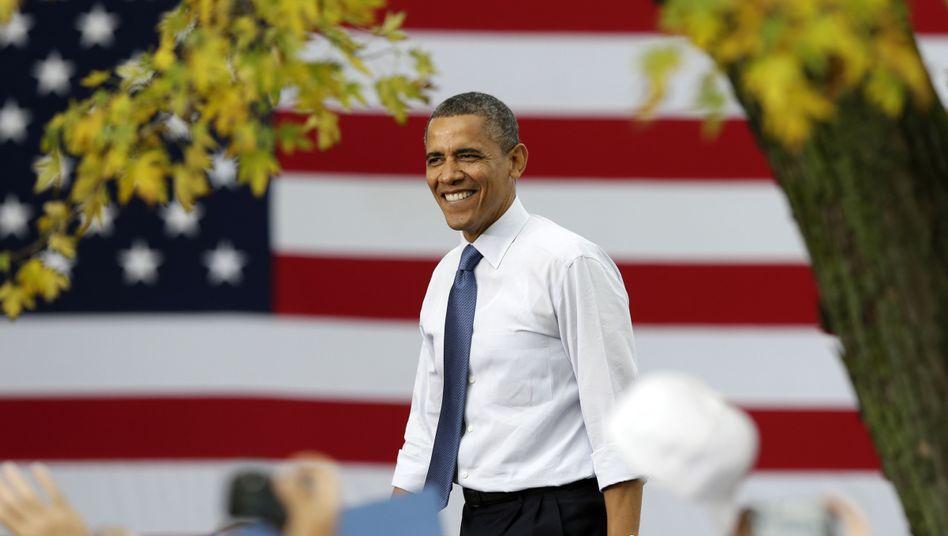 Obama im Bundesstaat Mississippi im Oktober 2012: Proteste gegen den Präsidenten