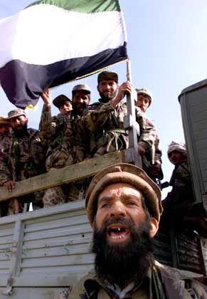 Nordallianz-Kämpfer: Einrücken in Kabul