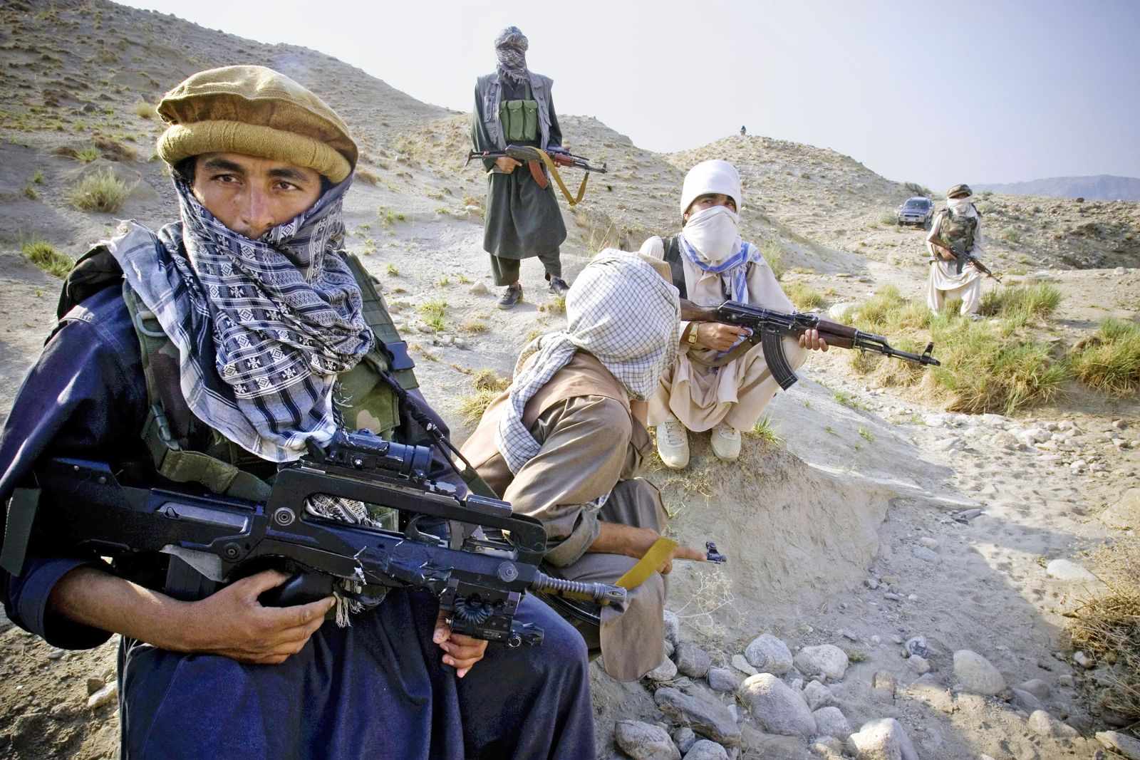 Afghanistan Taliban Fighters Ambush French Troops
